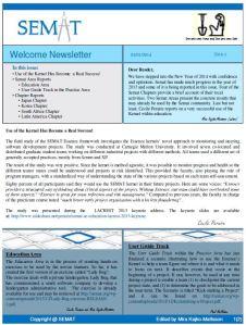 SEMAT Newsletter 0114-1